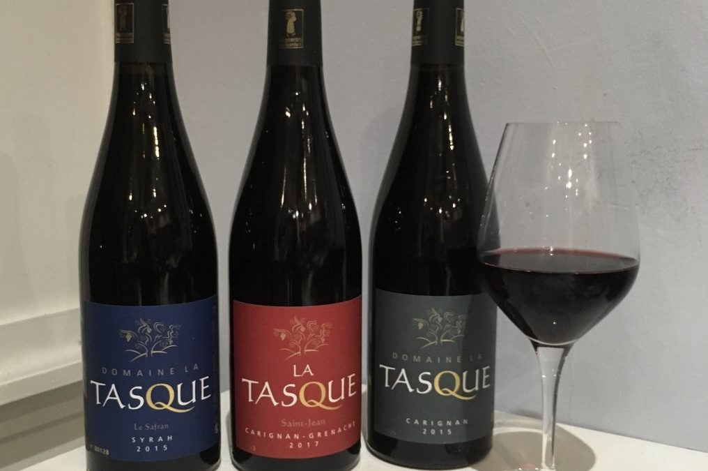 Domaine La Tasque in the UK for Christmas